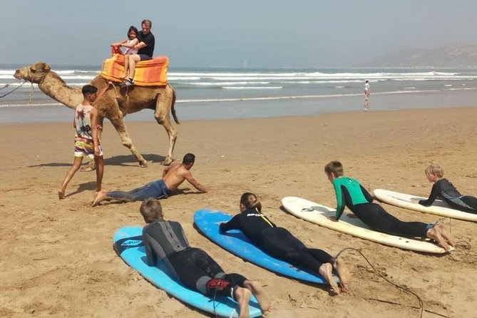 Surfing lesson at Agadir Beach photo 7