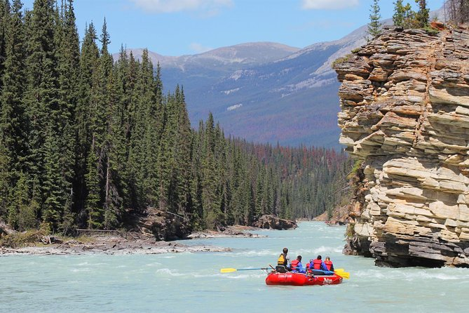 Athabasca Canyon Run Family Rafting: Class II Plus Rapids