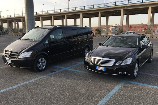 Transfer from Rome to Amalfi Coast with 2 hours stop at Pompeii or reverse