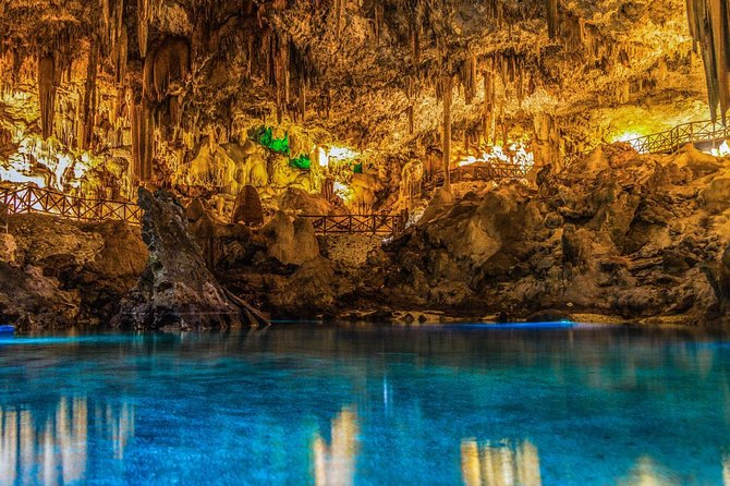 Experience to the Mayan Underworld (Cavern-Cenote) With Transportation