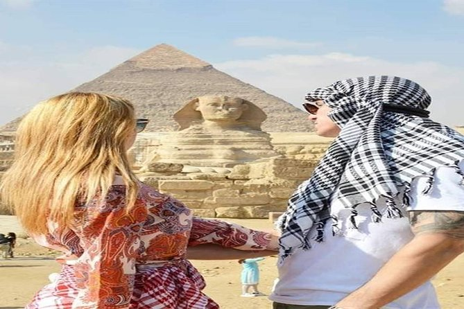 Full Day Tour: Giza Pyramids, Sphinx, Sakkara and City of Memphis photo 2