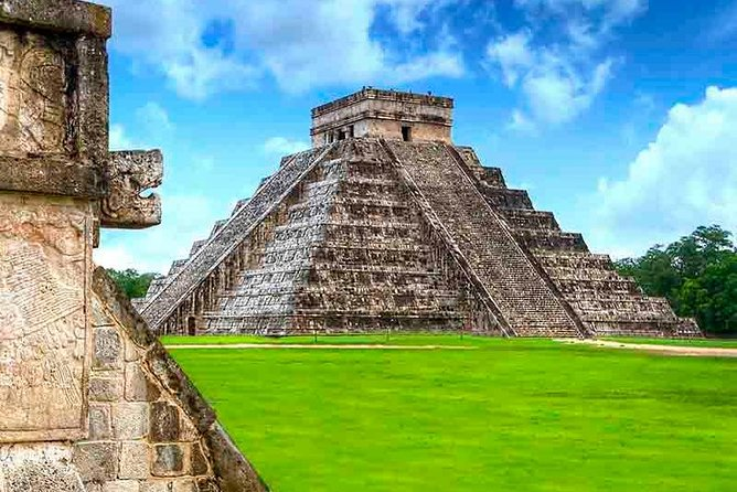 Pyramid in Jungle- Coba, Chichen Itza- most important Maya city, sacred Cenote