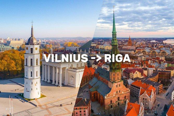 Vilnius-Riga Sightseeing Tour Bus