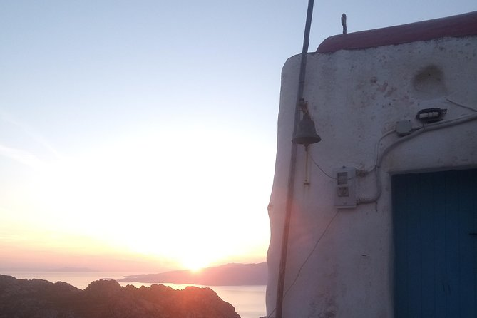 Sunset at the Top of Mykonos!!!