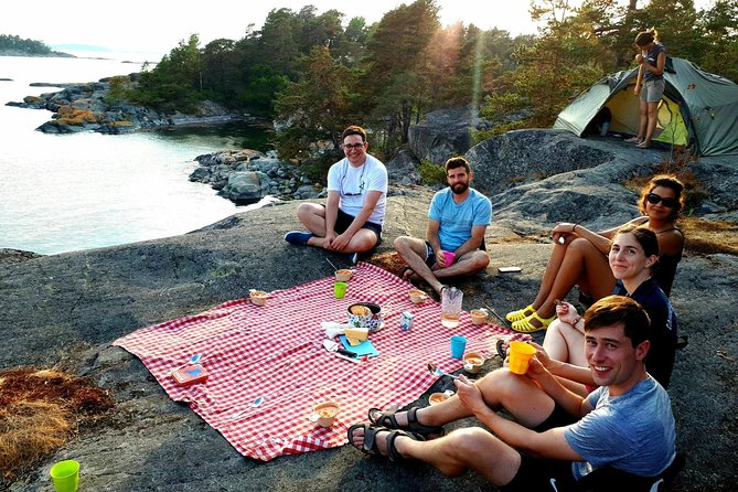 3-Day Stockholm Archipelago Kayaking and Camping Tour