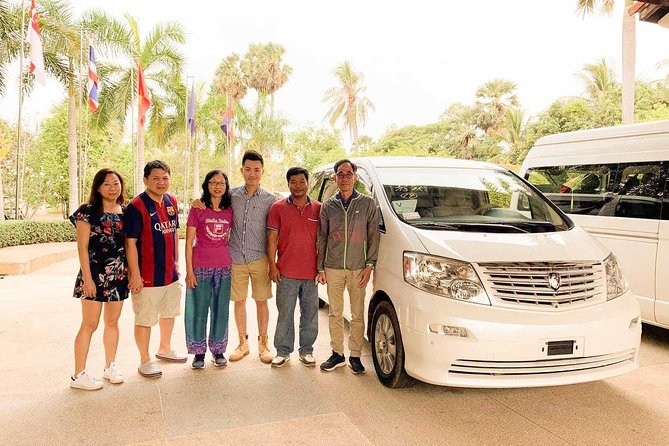 A Day Trip, Road Sightseeing, Phnom Penh to Siem Reap English Speaking Driver