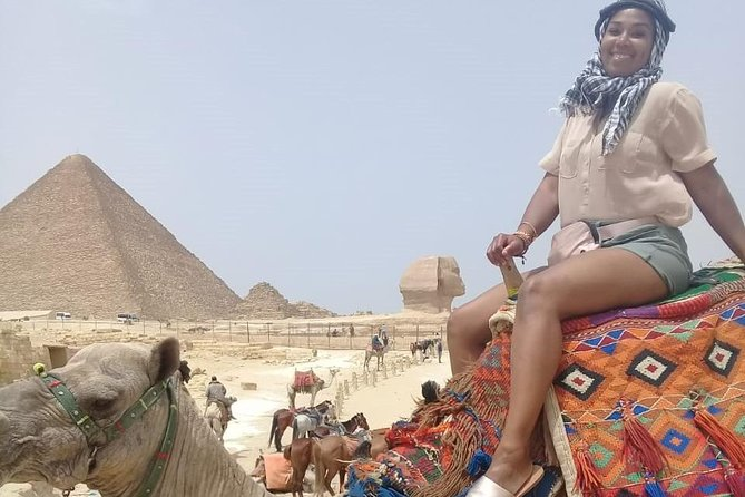 Private Half-Day Trip to Giza Pyramids with Camel-Riding from Cairo Giza hotels