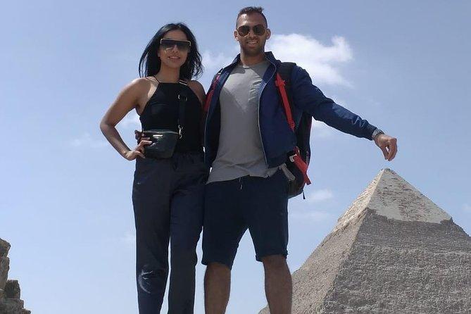 8-Hour Private Guided trip Giza Pyramids , Memphis old city and Saqqara