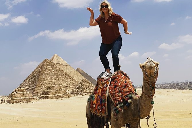 Cairo Highlights:3 Day Guided Giza pyramids Tour with Dinner Cruise Camel Ride