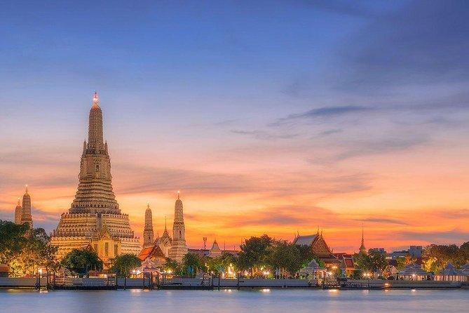 Bangkok Sunset Selfie Landmark Tour with Dinner at China Town