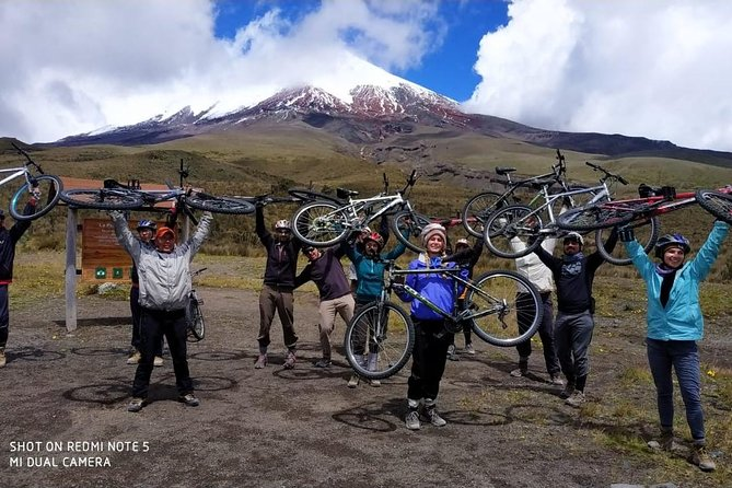 Cotopaxi and Biking Full-Day: Monday, Wednesday, Friday and Saturday!!!