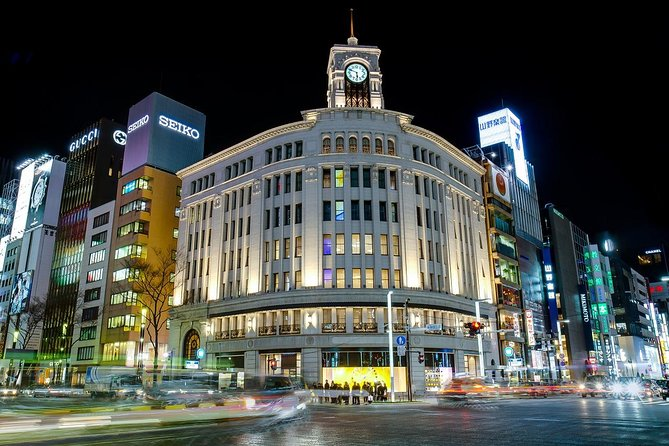 Ginza Exquisite Japanese Traditional Food Encounter