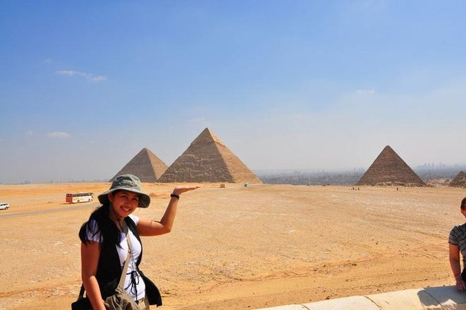 Full-Day Tour from Cairo: Giza Pyramids, Sphinx, Memphis, and Saqqara photo 2