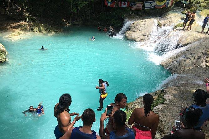 Private Blue Hole Jamaica Tour from Ocho Rios