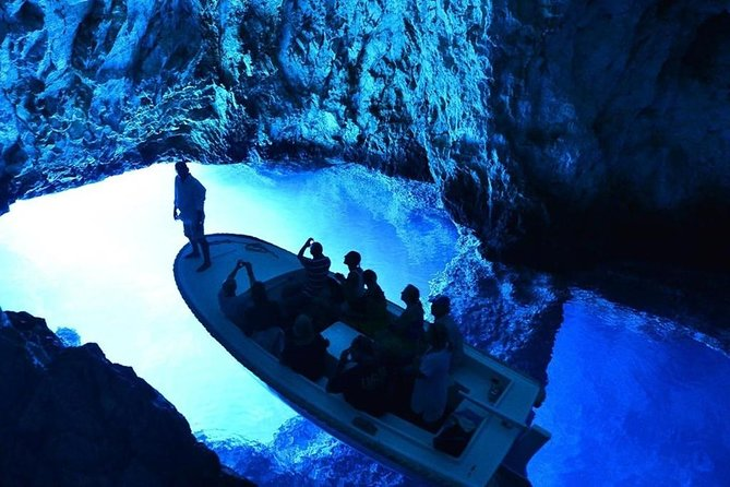 Blue and Green Cave - Private 5 island tour from Split and Trogir