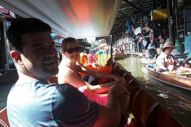 Private Damneon Saduak Floating Market Tour from Bangkok with Chauffeur-Guide