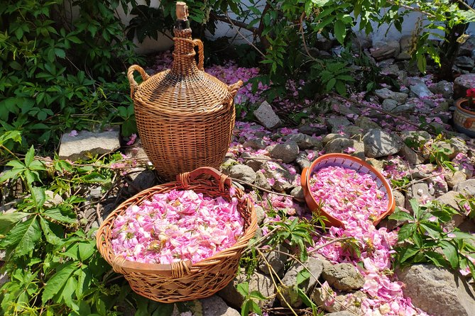 Rose Jam Workshop and Leavening of Authentic Yoghurt in a Traditional House