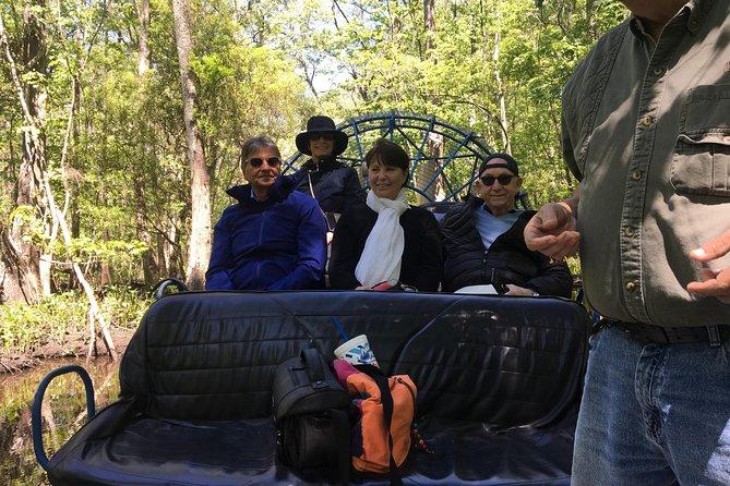Destrehan Plantation & Swamp Tour Combo with Transportation