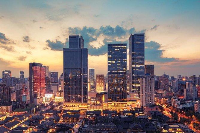 Arrival Private Transfer Chengdu Airport CTU to Chengdu City by Executive Sedan