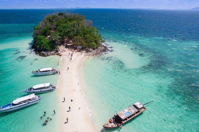 KRABI: 4 Island Snorkeling & Relax by Speed Boat with Lunch