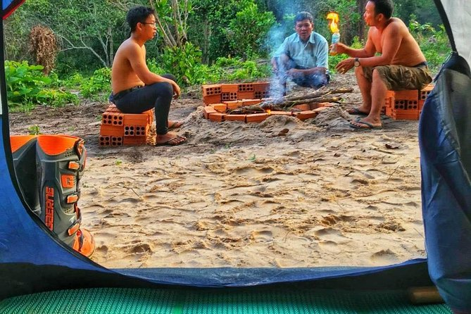 Overnight Camping tent at Kulen Mountain From Siem Reap photo 3