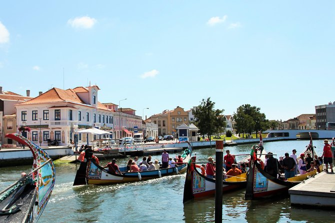 Aveiro day tour with Tickets to Moliceiro Boat, Vista Alegre Museum, Salt Pans