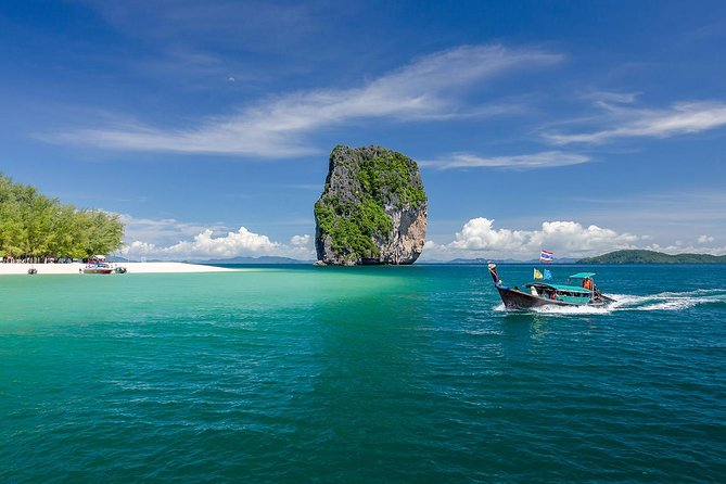 Krabi 5 Islands and Talu Cave Snorkeling Tour by Longtail Boat