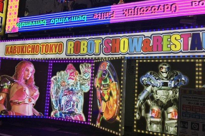 Robot cabaret show and Asakusa Private Tour
