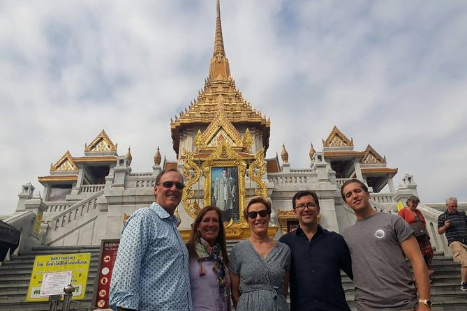 Full-Day Bangkok City Tour with English Speaking Chauffeur-Guide