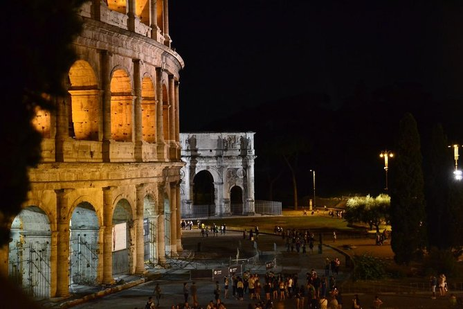 Exclusive Colosseum Undergrounds by Night
