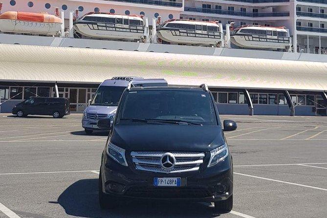 Private Transfer: Port of Civitavecchia - Fiumicino Airport or vice versa