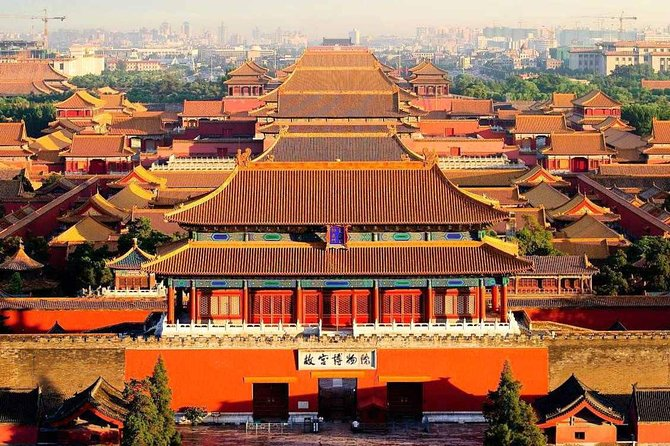 Tiananmen Square & Forbidden City small group Half Day Flexible Tour