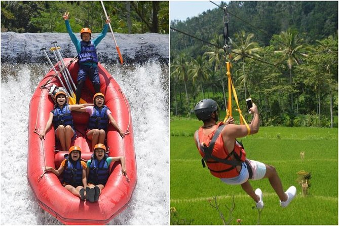 BMW Rafting + Bali Zipline at Telaga Waja River
