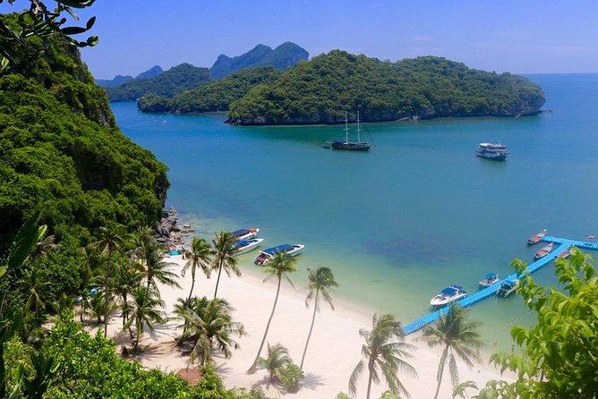 Ko Samui Angthong Marine Park Full Day Tour with Snorkeling & Sea Kayaking