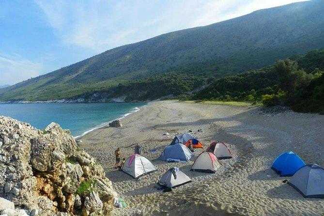 Hiking & Camping to Kroreza Beach (near Sarande)