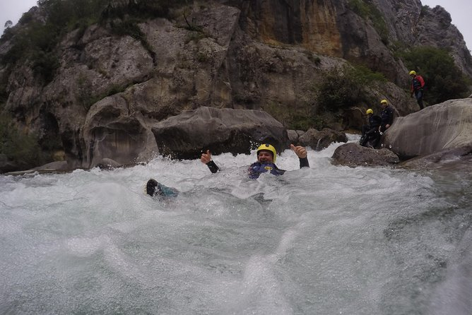 Canyoning on Cetina river