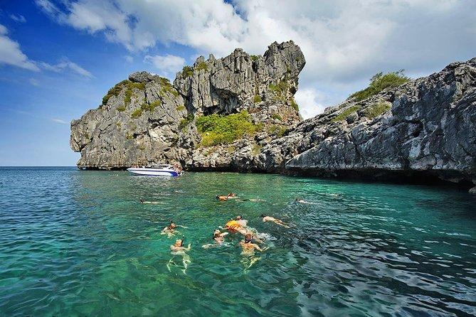 Ko Samui Angthong Marine Park Full Day Tour : Snorkeling & Sea Kayaking