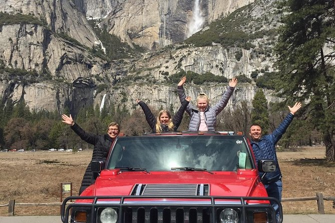 Private Hummer 4 X 4 Tour of Yosemite Including Hotel Pickup
