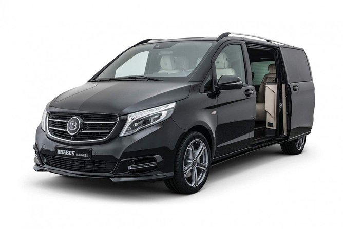 Private Transfers in Luxury Van
