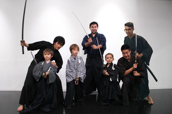 Samurai experience in Shinjuku, Tokyo
