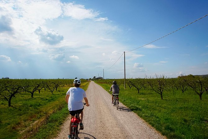 E-bike adventure among medieval castles and old villages
