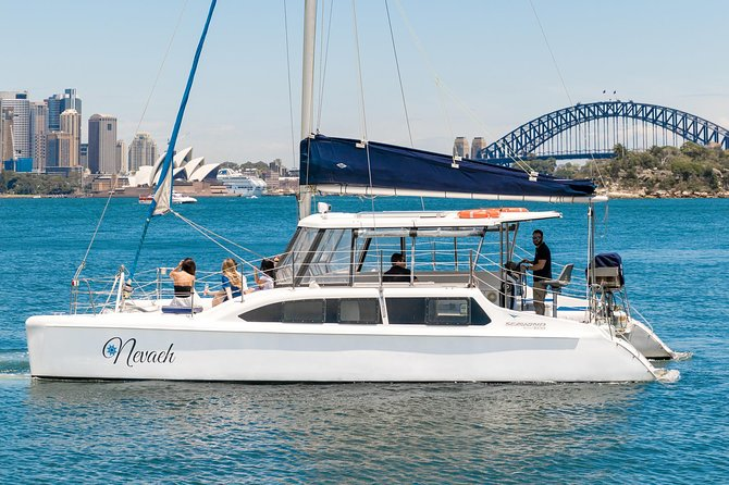 Private BYO Sydney Harbour Catamaran Cruise - 60 or 90 Minutes