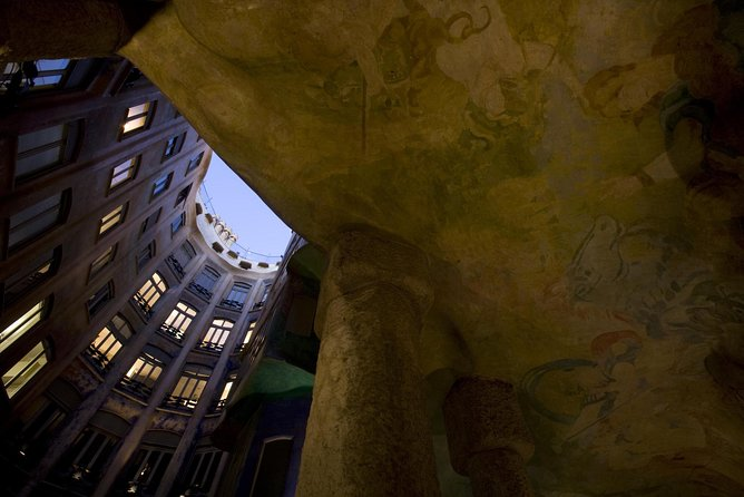 La Pedrera Night Experience: Visit + Audiovisual Display on the Roof Terrace photo 3