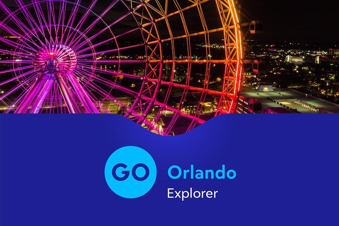 Go Orlando Explorer Pass with 3-Day I-Ride Trolley Ticket