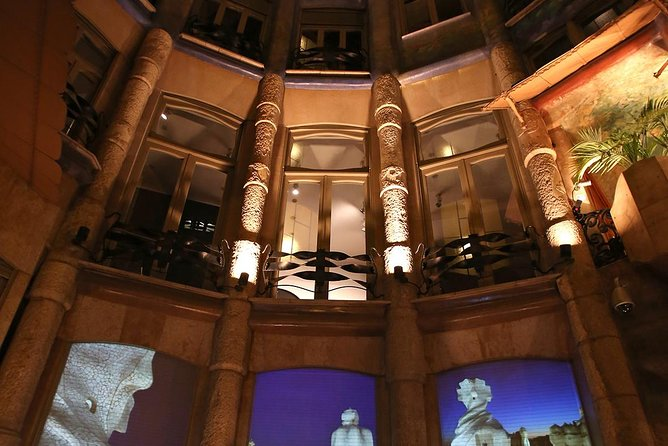 La Pedrera Night Experience: Visit + Audiovisual Display on the Roof Terrace photo 6