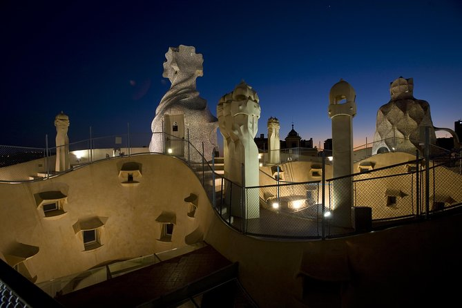 La Pedrera Night Experience: Visit + Audiovisual Display on the Roof Terrace photo 12