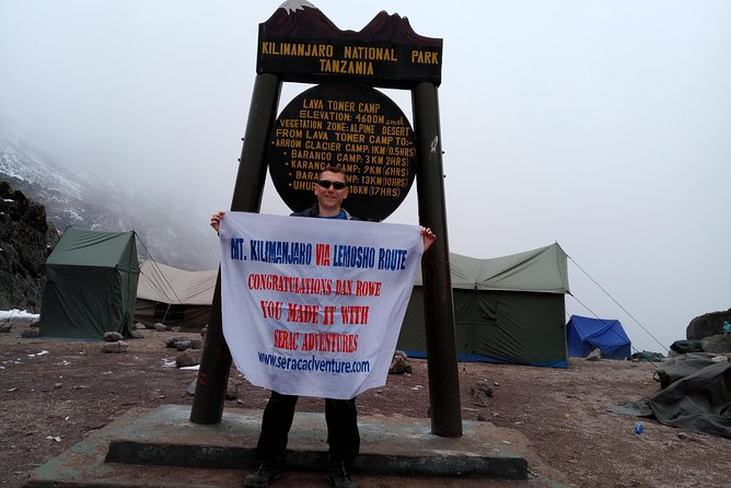 Serac Adventure Through Kilimanjaro Mountain photo 3