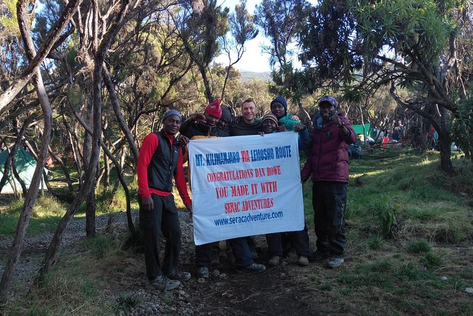Serac Adventure Through Kilimanjaro Mountain photo 7