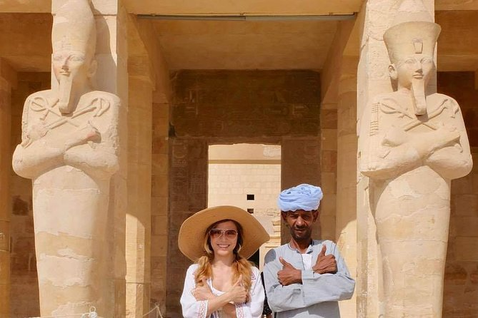 Luxor private tour from HRG for 2 persons &more / an unique program