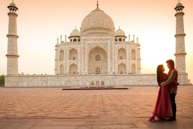 2-Day Private Taj Mahal Sunrise and Sunset Tour from Delhi